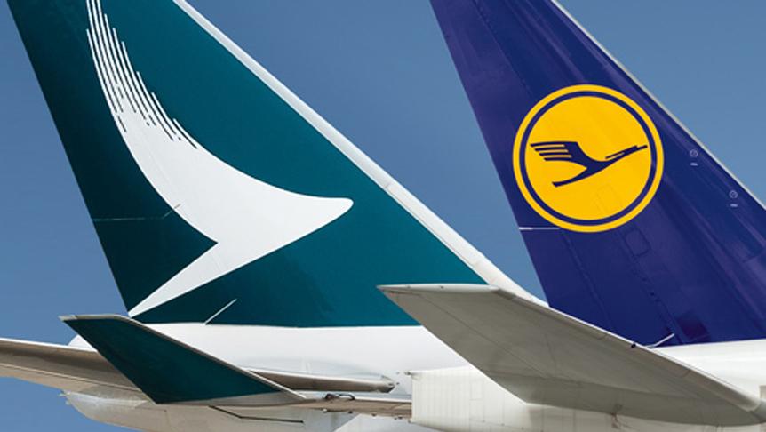 キャセイパシフィック航空(CX)とルフトハンザグループの提携