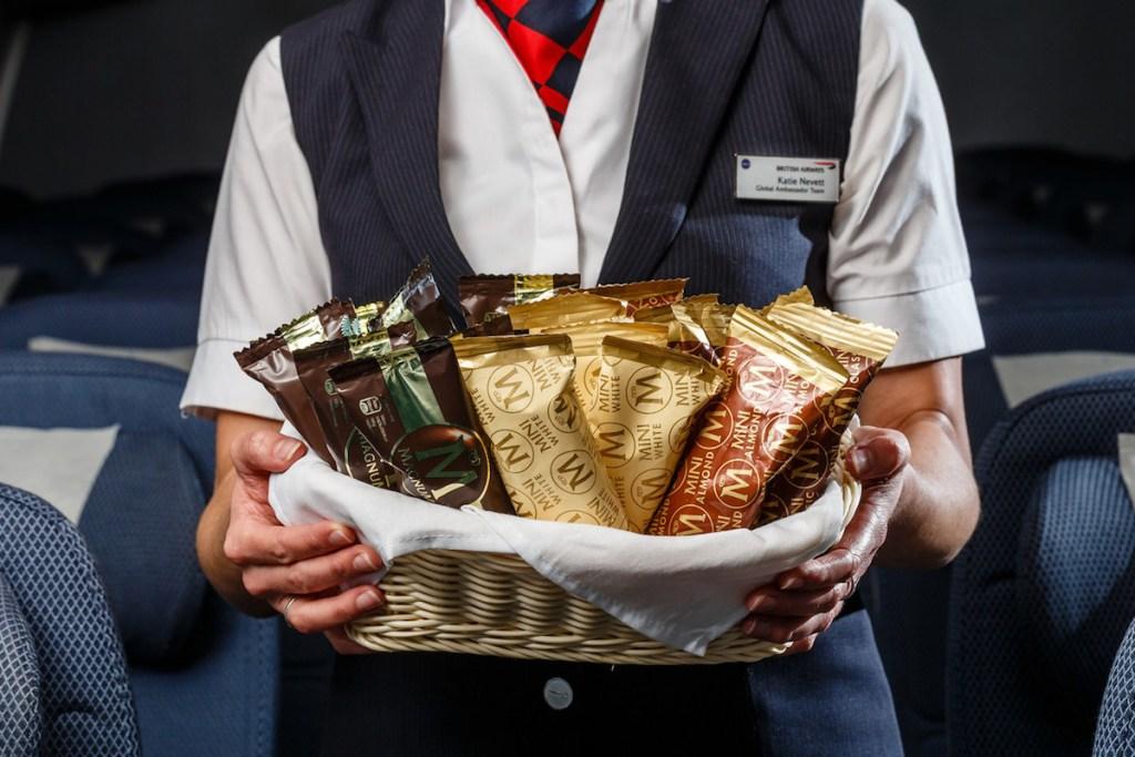 ブリティッシュ・エアウェイズ(BA)のエコノミークラスの食事が改善