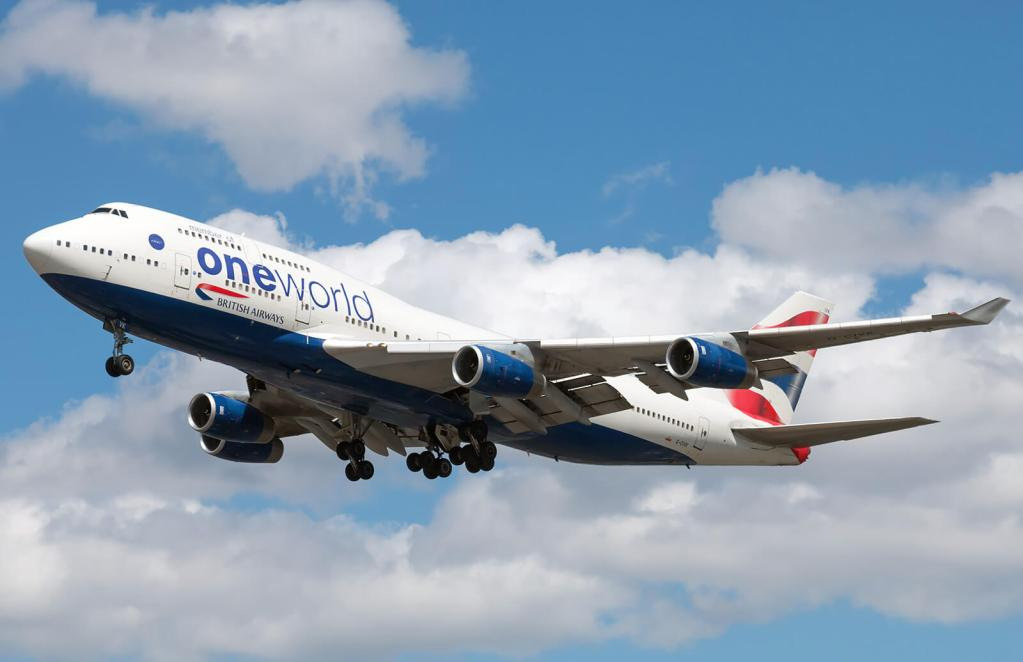 """ブリティッシュ・エアウェイズ(BA)のボーイング747機で、機内WiFi"""".air""""が利用可能に"""