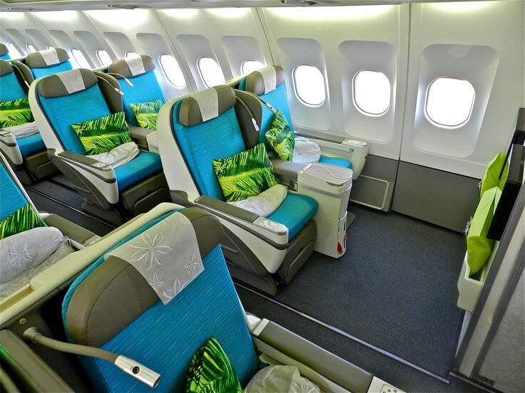 エアタヒチヌイ(TN)の新しい特典航空券予約クラス