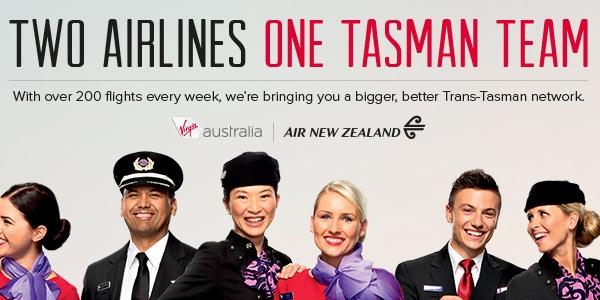 ニュージーランド航空(NZ)とヴァージン・オーストラリア(VA)、オーストラリア・ニュージーランド間の提携を解消