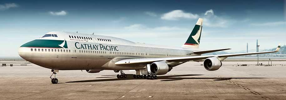 Miles & Moreでキャセイパシフィック航空(CX)のフライト予約がオンラインで可能に!