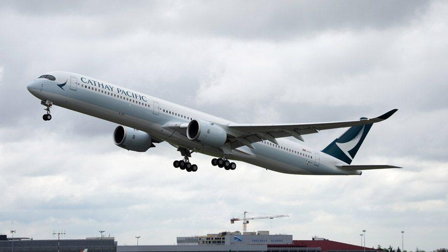 キャセイパシフィック航空(CX)のエアバス A350-1000 就航路線まとめ(2018年7月版)