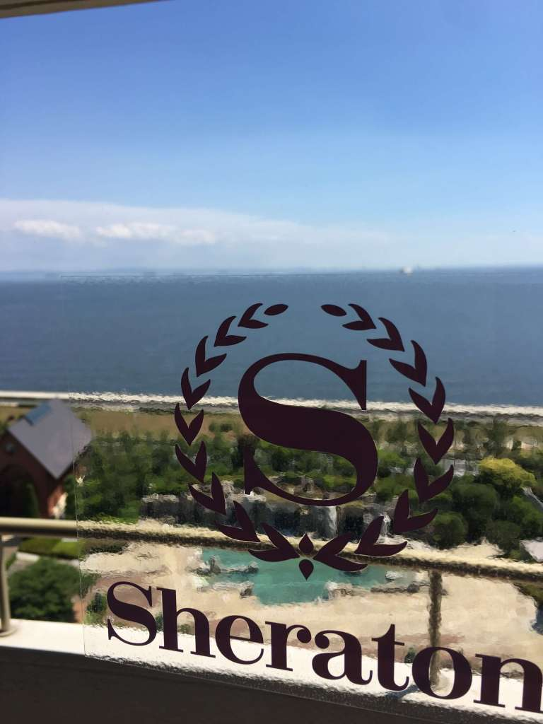 Sheraton Grande Tokyo BayのWifiスピードチェック