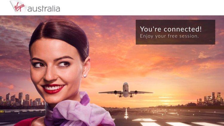 ヴァージン・オーストラリア(VA)がオーストラリア・ニュージーランド間のフライトで機内WiFiを提供開始