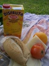 Frühstück irgendwo im Freien =)