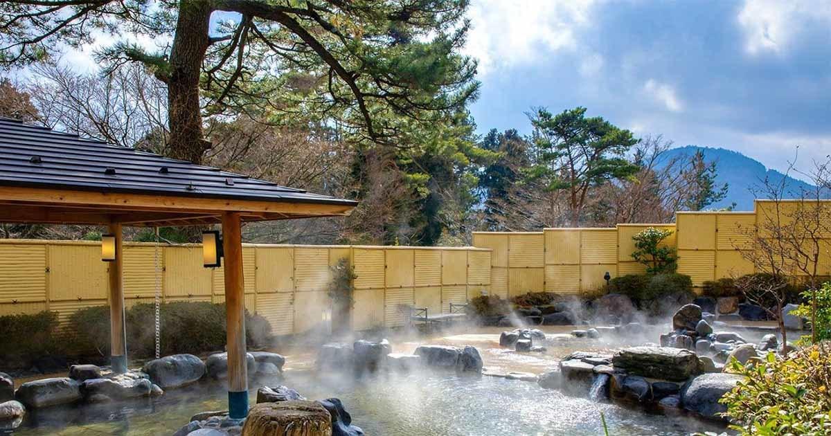 Sources chaudes naturelles a Hakone
