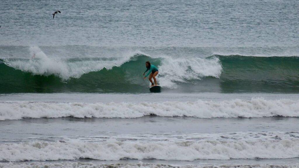 Interview sarah poussé par le vent surf