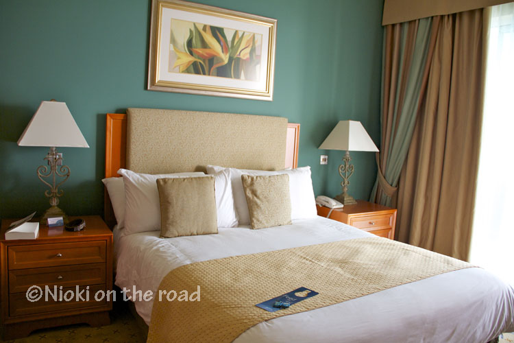 Lit king size hôtel Malte