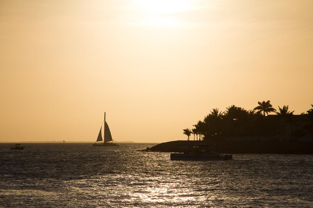Sunset celebration Key West