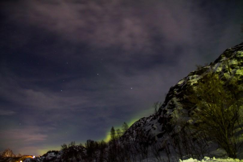 Svolvær aurores boreales