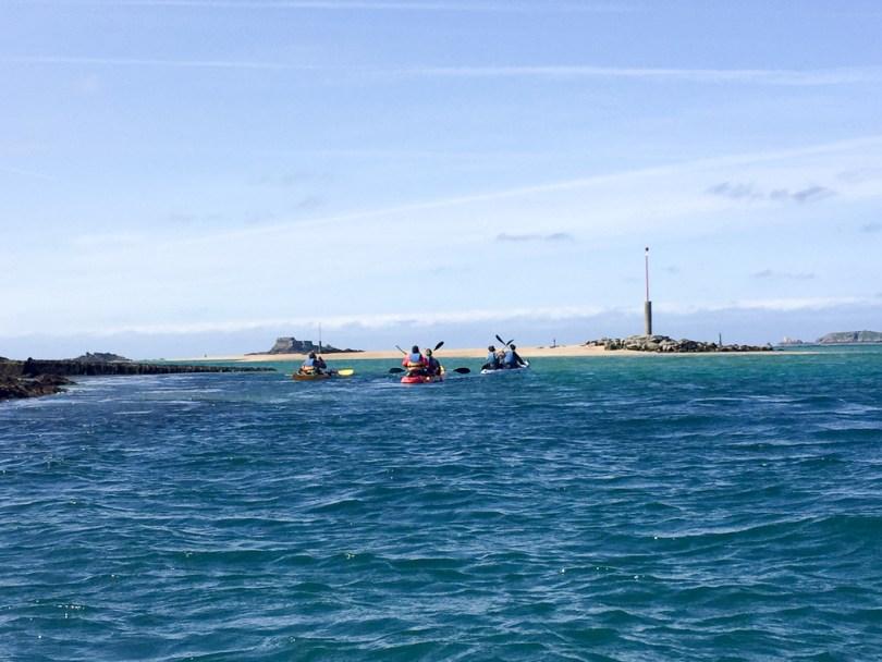 kayak bretagne
