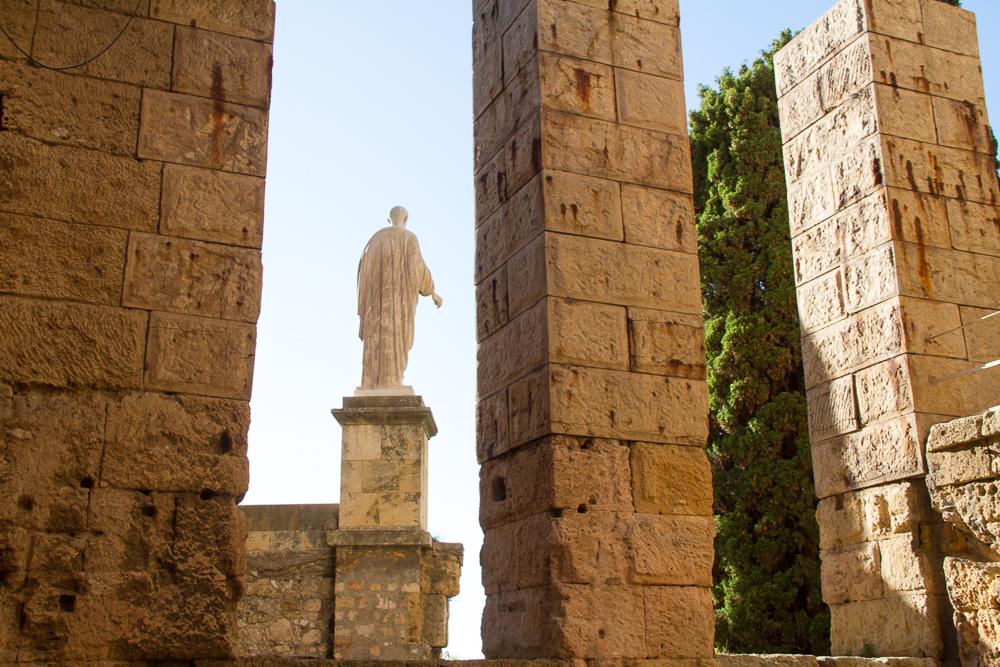 Statue Tour du Prétoire