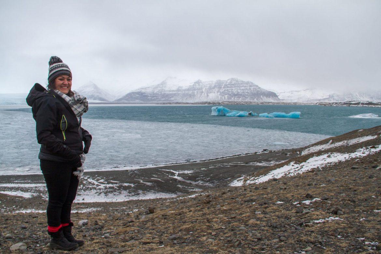 Islande icebergs de Jökulsárlon
