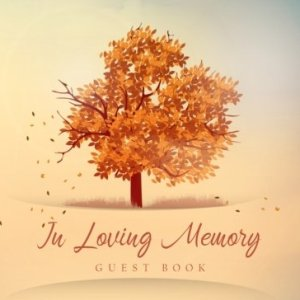 Autumn Tree of Life Guest Book