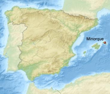 Minorque carte
