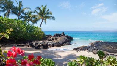 Jean-Marc Gyphjolik à la plage dans Hawaï pour bronzer