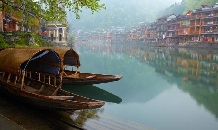 Jean-Marc Gyphjolik visite les anciennes villes traditionnelles chinoises