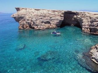 Jean-Marc Gyphjolik découvre les plages de la Grèce