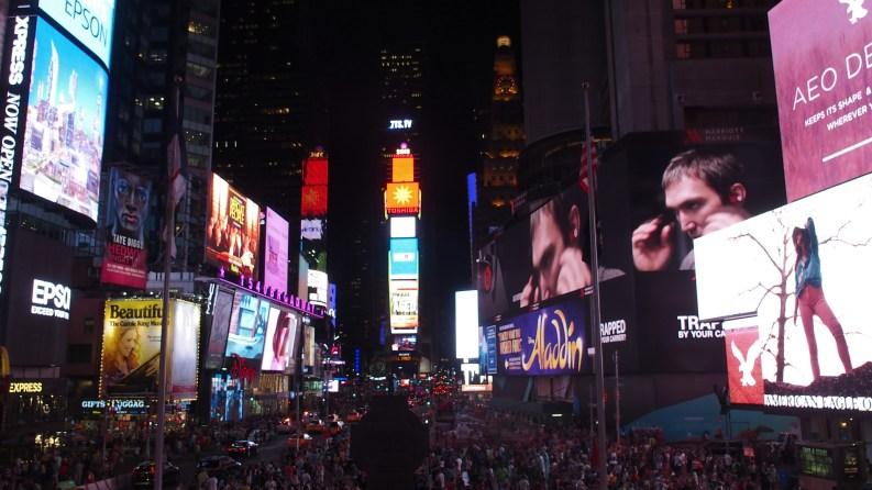 Time Square - été 2015