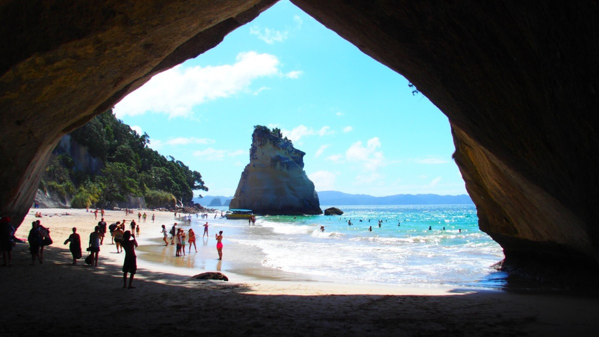 Cathedral-cove