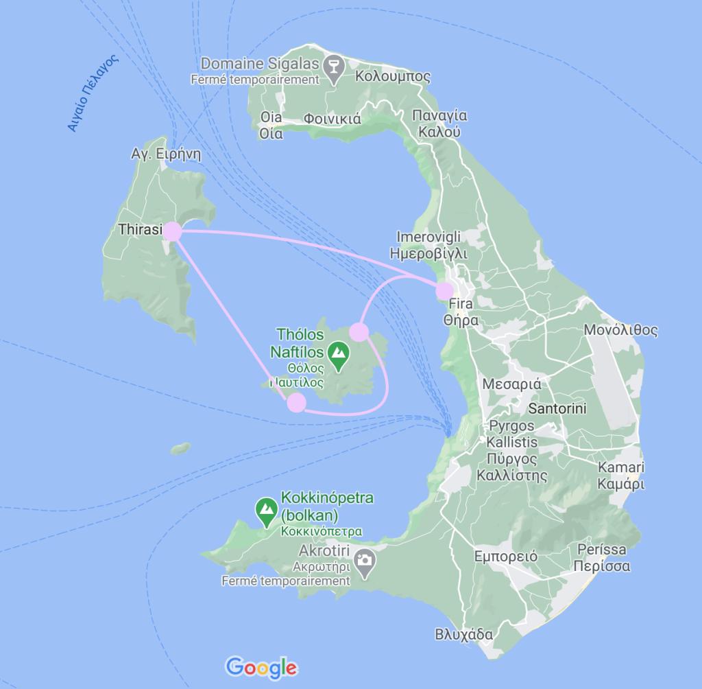 croisiere-santorin-trajet