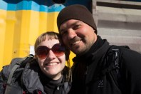 Jan (HU) et Mariola (PL) - Oulan Bator, MONGOLIE