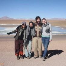 Alice (BE), Caroline (FR), Christian (DE), Susan (NL) - Tupiza, BOLIVIE