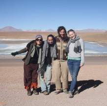Alice (BE), Caroline (FR), Christian (DE), Susan (NL) - Tupiza, BOLIVIE