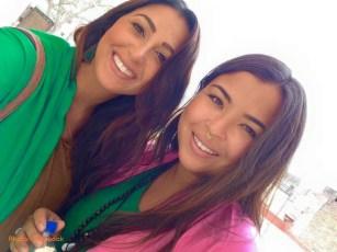Rachel et Alexandra (US) - Panchla Siddah, INDE