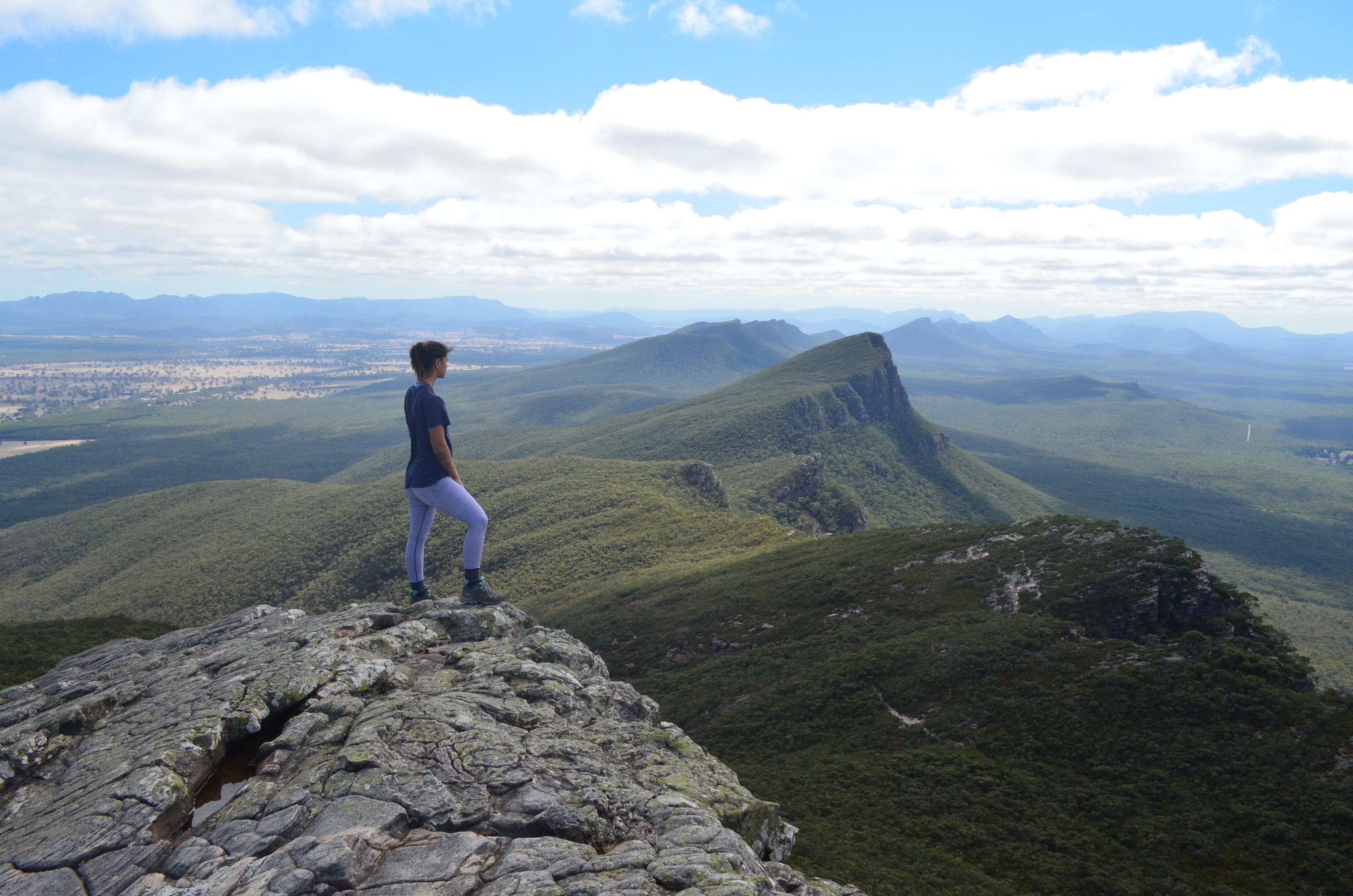 Sommet du Mont Abrupt dans les Grampians