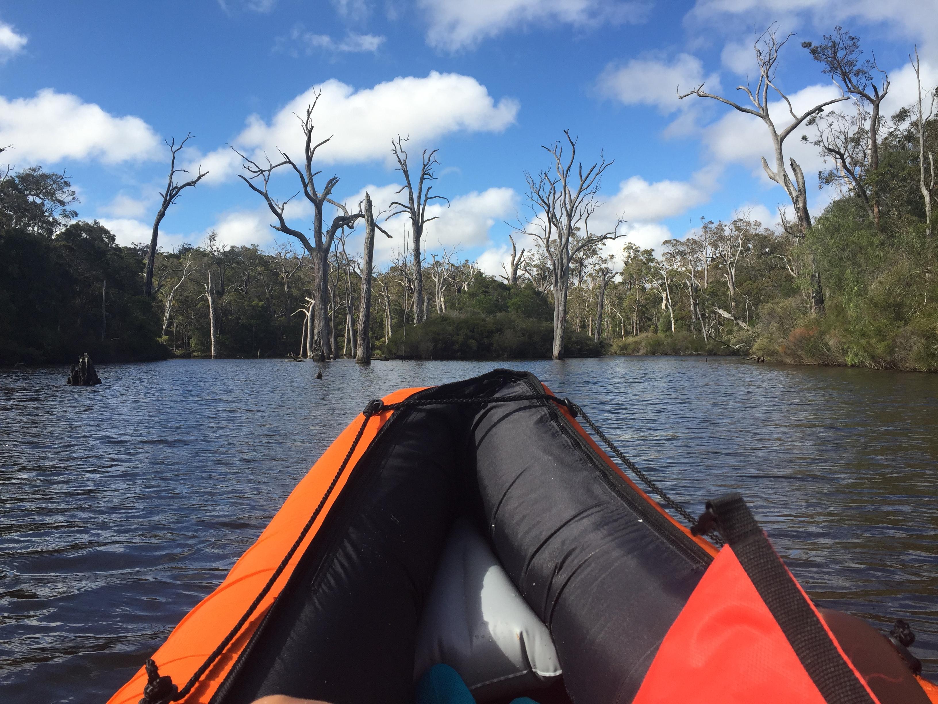 Promenade en kayak dans la Margaret River