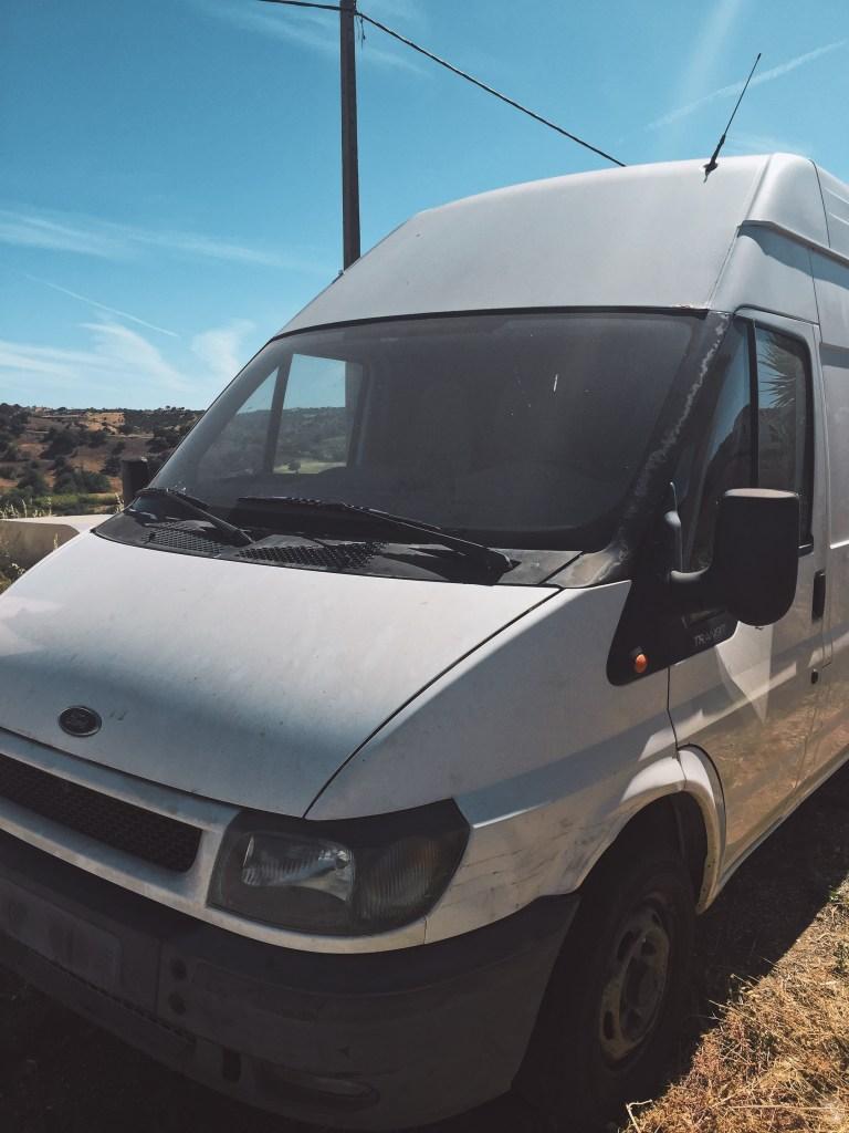 Pour vivre notre Van Life nous avons choisi une Ford Transit