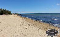 Поселковый пляж Заозерное