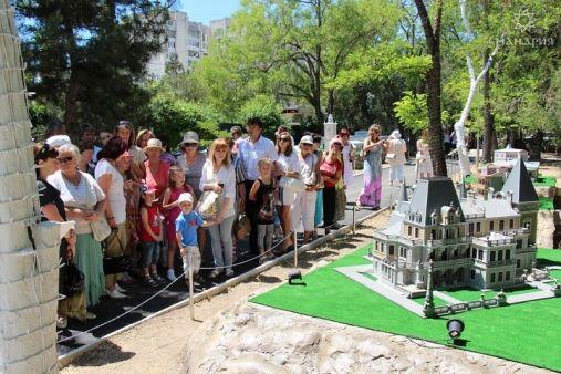Парк миниатюр в Евпатории
