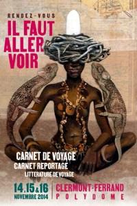 Salon du Carnet de Voyages - affiche 2014