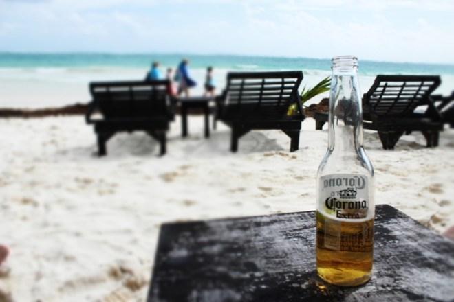 Tulum plaża relaks