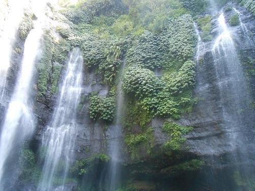 Bali wodspad Gitgit