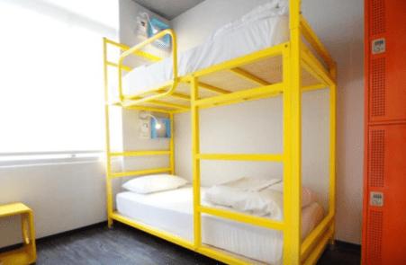 Les chambres privées au Homey Hostel