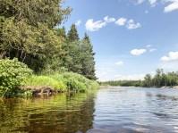 Descendre la rivière Miramichi en Tubing