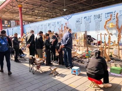 Visiter le marché des antiquités de Pékin