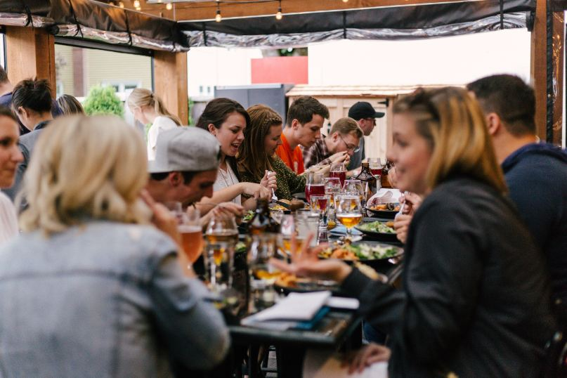 Millenials root for foodie destinations