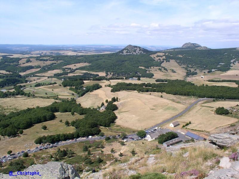 Vue depuis le Mont Gerbier de Jonc