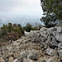 Saint-Jeannet: oppidum du Baou de la Gaude (796 m)