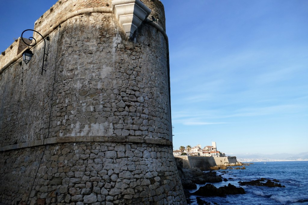 Bastion Saint André - remparts d'Antibes