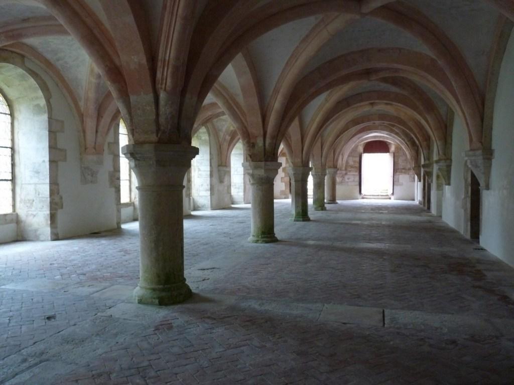 Abbaye de Fontenay - le chapitre