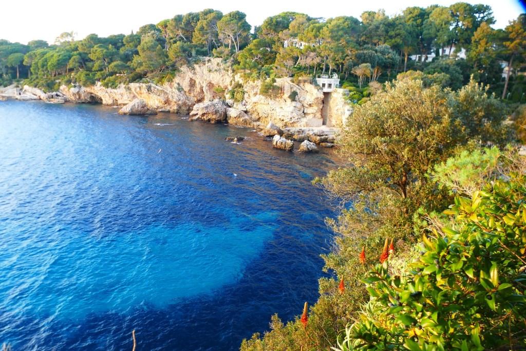 Cap d'Antibes- Anse de l'Argent Faux