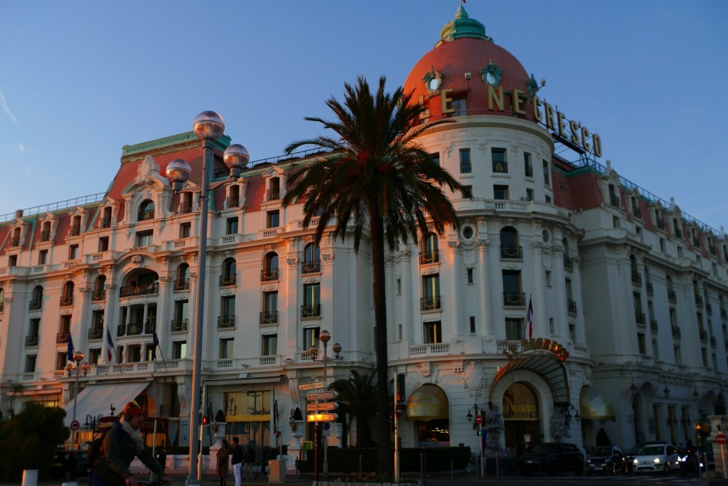 Le Négresco sur Promenade des Anglais - Nice
