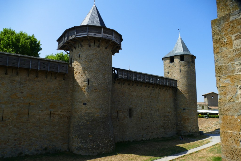 La Cité de Carcassonne - Le Château Comtal