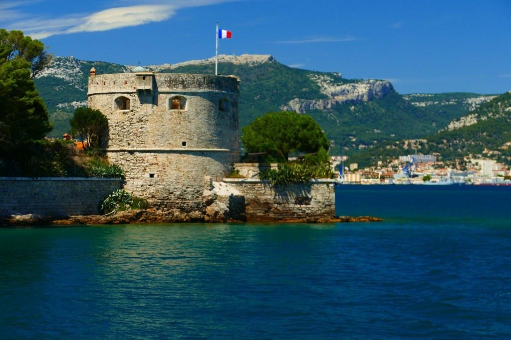 Rade de Toulon: Le fort de Balaguier